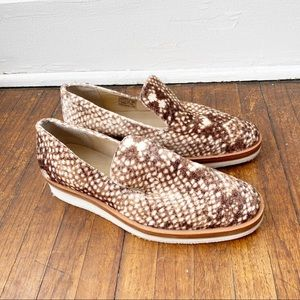 Free People Snake Eye Loafers